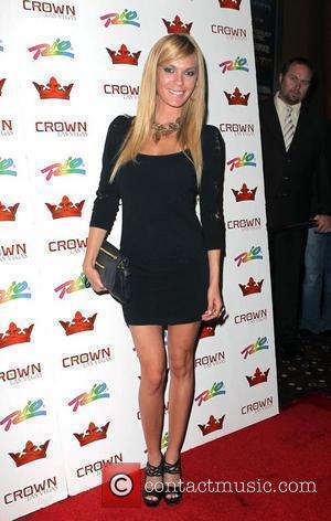 Jasmine Dustin  Iron Man 2 actresses Anya Monzikova and Jasmine Dustin walk the red carpet at Crown Nightclub at...