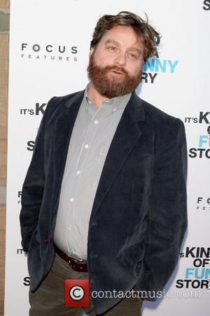 Zach Galifianakis New York screening of 'It's Kind of a Funny Story' at Landmark's Sunshine Cinema - Arrivals New York...