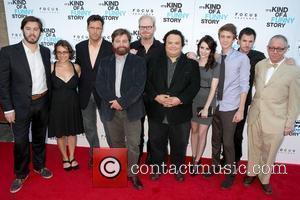 Zach Galifianakis, Emma Roberts, Jim Gaffigan and Mann