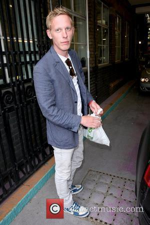 Laurence Fox British actor outside the ITV studios London, England - 29.04.10