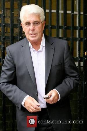 Max Clifford publicist outside the ITV studios London, England - 29.04.10