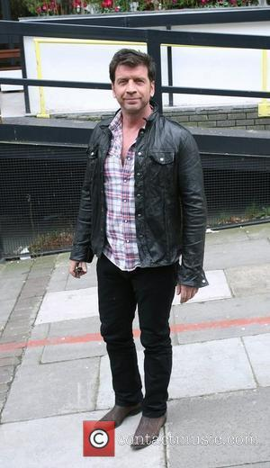 Nick Knowles outside the ITV studios London, England - 01.04.10