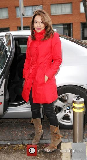 Tasmin Lucia Khan  outside the ITV studios London, England - 01.12.10
