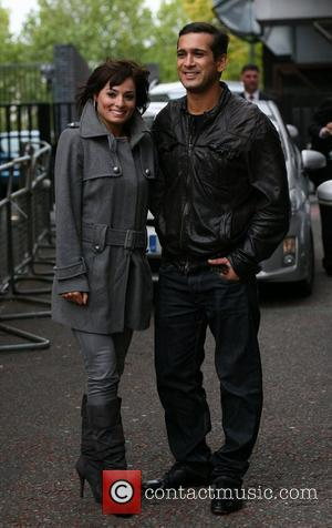 Flavia Cacace and Jimi Mistry outside the ITV studios London, England - 01.10.09