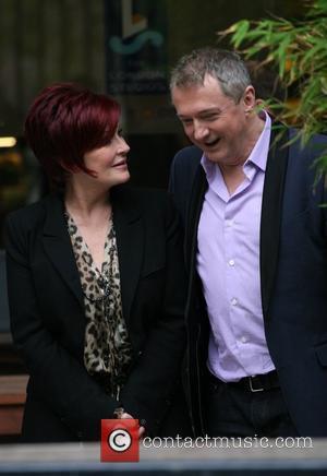 Sharon Osbourne and Louis Walsh