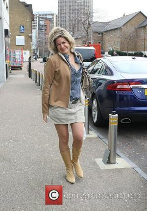 Penny Smith outside the ITV studios London, England - 03.03.10