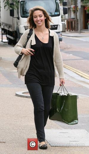Emma Crosby outside the ITV studios London, England - 13.08.10
