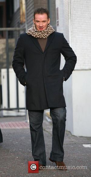 Russell Watson outside the ITV studios London, England - 12.11.10