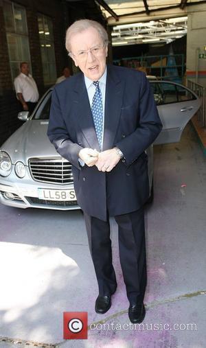 David Frost outside the ITV studios London, England - 17.06.10