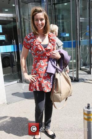 Emma Crosby outside the ITV studios London, England - 17.06.10