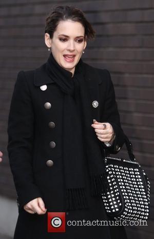 Winona Ryder outside the ITV studios  London, England - 19.01.11