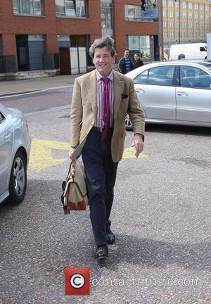 Melvyn Bragg outside the ITV studios London, England - 20.04.10