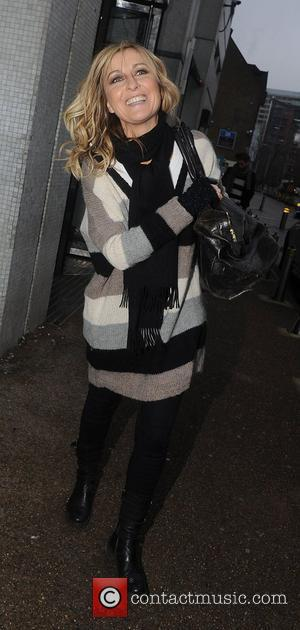 Fiona Phillips leaving the ITV studios London, England - 22.12.10
