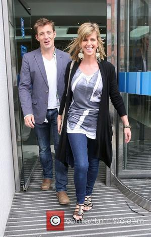 Ben Shephard and Kate Garraway leave the ITV studios London, England - 29.07.10