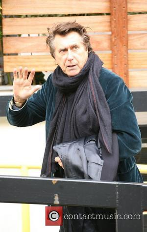 Bryan Ferry at the ITV studios London, England - 01.11.10