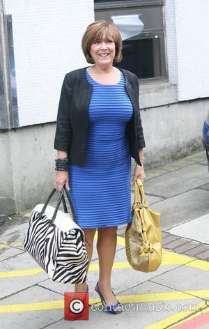 Lynda Bellingham outside the ITV studios London, England - 04.08.10
