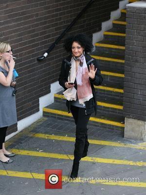 Tupele Dorgu outside the ITV studios London, England - 16.03.10