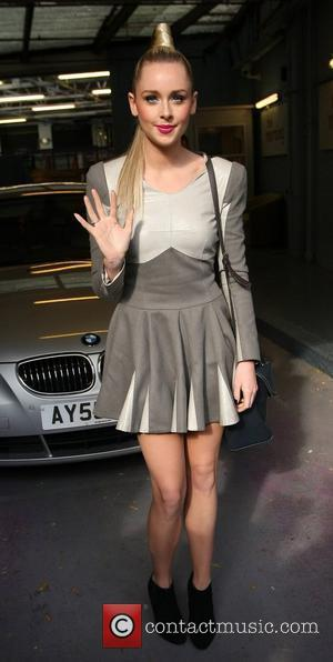 Diana Vickers outside the ITV studios  London, England - 19.10.10