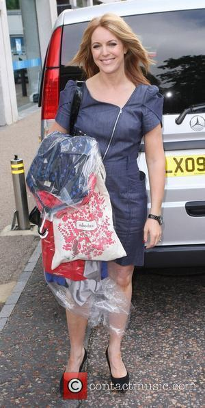 Helen Fospero outside the ITV studios London, England - 29.06.10
