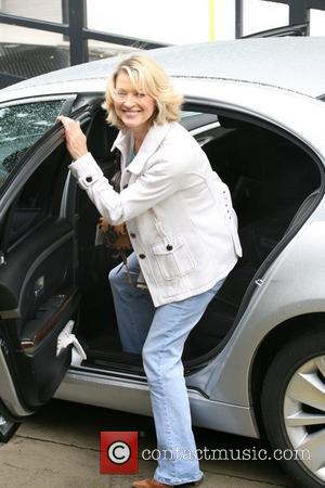 Gillian Taylforth seen outside the ITV studios in central London. London, England - 01.06.10