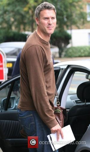 Dan Lobb outside the ITV studios London, England - 07.09.10