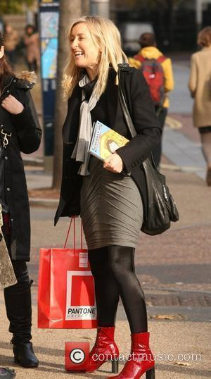 Fiona Phillips Celebrities outside the ITV studios. London, England - 01.11.10