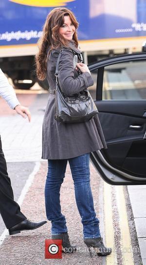 Suzi Perry leaving the ITV studios London, England - 19.11.10