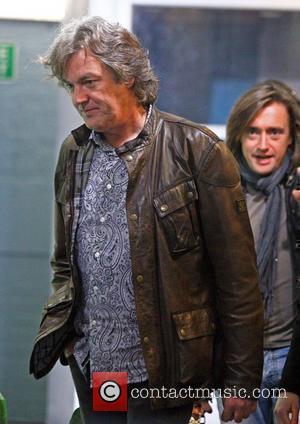 James May and Richard Hammond leave the ITV studios London, England - 29.11.10