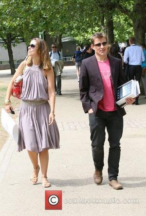 Emma Crosby and Ben Shephard outside the ITV studios on the Southbank London, England - 30.07.10