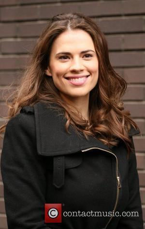 Hayley Atwell outside the ITV studios London, England - 05.11.10