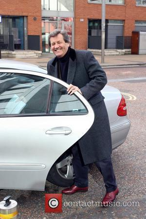 Melvyn Bragg leaving the ITV studios London, England - 09.03.10