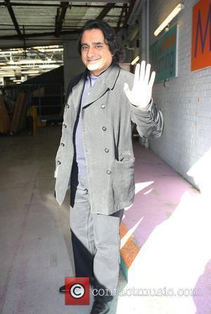 Sanjeev Bhaskar outside the ITV studios London, England - 10.02.10