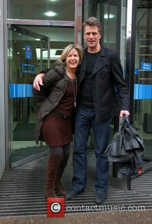 Andrew Castle and Penny Smith