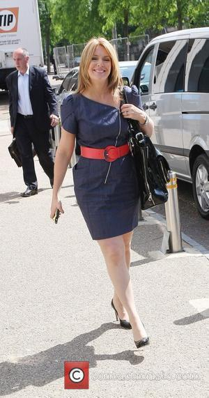 Helen Fospero outside the ITV studios London, England - 22.06.10