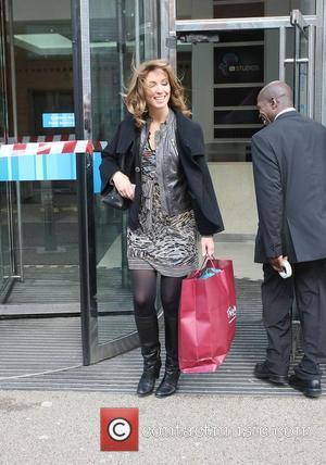 Emma Crosby outside the ITV studios London, England - 26.03.10