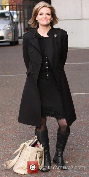Sharon Small outside the ITV studios London, England - 03.11.10