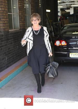 Sue Johnston leaving the ITV studios London, England - 09.04.10