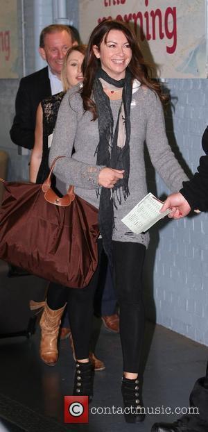 Suzi Perry Celebrities outside the ITV television studios. London, England - 05.11.10