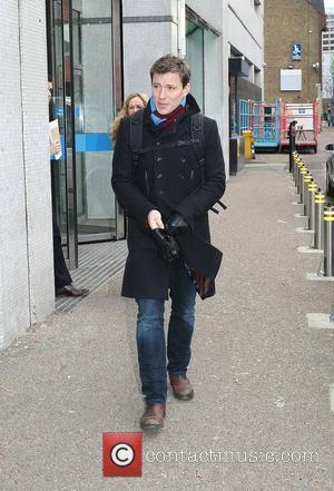 Ben Shephard leaving the ITV studios London, England - 05.01.10