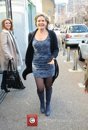 Penny Smith leaving the ITV studios London, England - 05.03.10