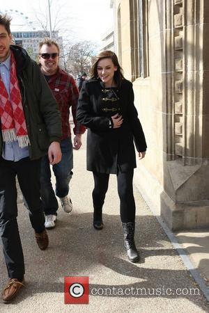 Amy MacDonald outside the ITV studios London, England - 08.03.10