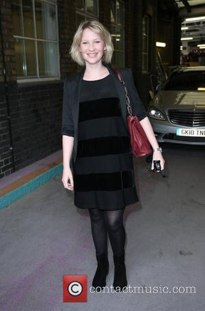 Joanna Page at the ITV studios London, England - 14.04.10
