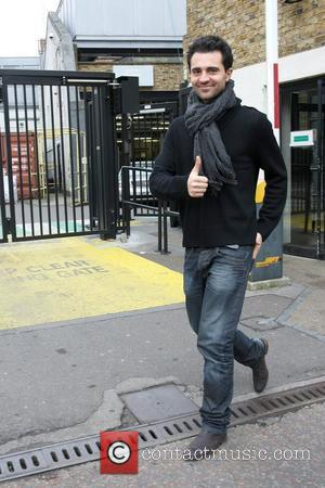 Darius Danesh leaves the ITV studios London, England - 15.02.10