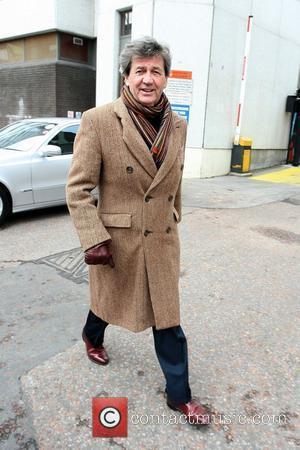 Melvyn Bragg leaves the ITV studios London, England - 15.02.10