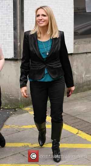 Jackie Brambles leaving the ITV studios London, England - 15.10.10