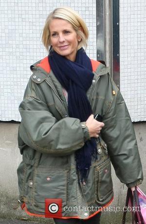 Ulrika Jonsson  leaving the ITV television studios London, England - 05.01.10