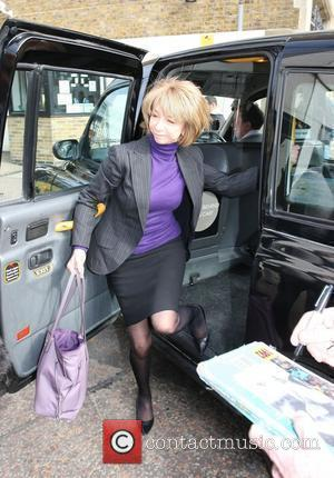 Helen Worth outside the ITV studios London, England - 08.03.10