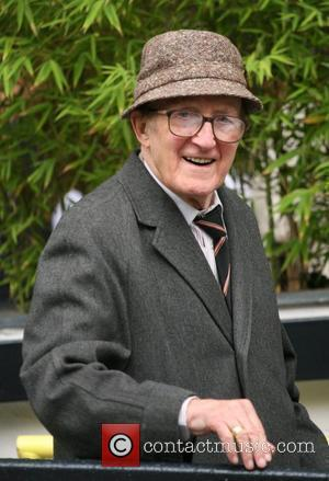 Ron Moody Celebrities outside the ITV television studios. London, England - 26.10.10