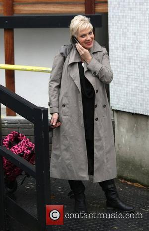 Denise Welch Leaving The Itv Studios