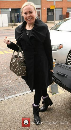 Jayne Torvill outside the ITV studios London, England - 22.11.10